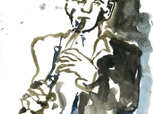 Jean-Charles Richard solo (Ferté jazz festival, 7 juin 2014)