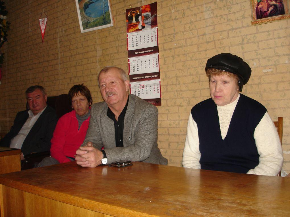 Rencontre avec les anciens liquidateurs et les veuves de liquidateurs de l'association DAPAMOGA
