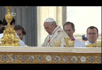MESSE DE CANONISATION DE JEAN XXIII ET DE JEAN PAUL II : LA VIDEO