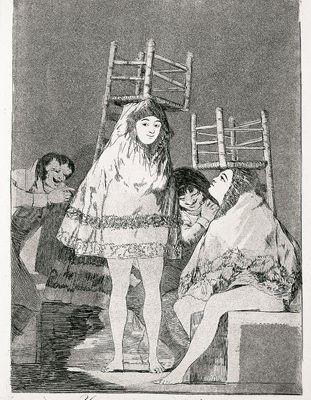 Goya, capricieux ?