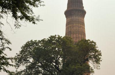 INDE : le Qutub Minar à Delhi