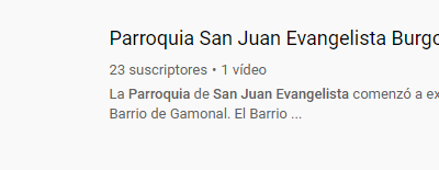 YA ESTAMOS EN YOUTUBE