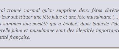 Mr Delanoë et la laïcité (communiqué de presse de Mickaël)