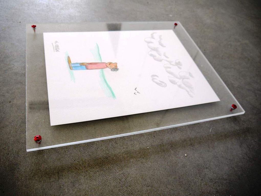 """Toutes tailles possibles, formes carrées, rectangulaires, circulaires - maintien par vis """"acier"""" ou plus"""