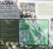Inauguration du sentier Amountagna et la rénovation de la Cabane de Michard. (Villars Colmars)