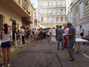 Vous pouvez trouver cette œuvre permanente à la galerie de Gilles Boudot, la porte étroite, 3 rue Etienne Dauphin 83000 Toulon