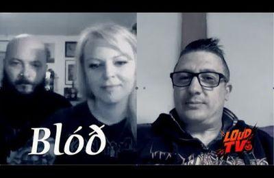 VIDEO - interview avec Anna et Ulrich de Blóð