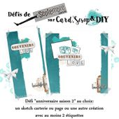 CS&DIY Anniblog de septembre 2018 - Card Scrap and DIY, le blog de défis