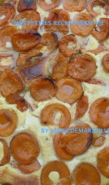 Tarte patissière aux abricots