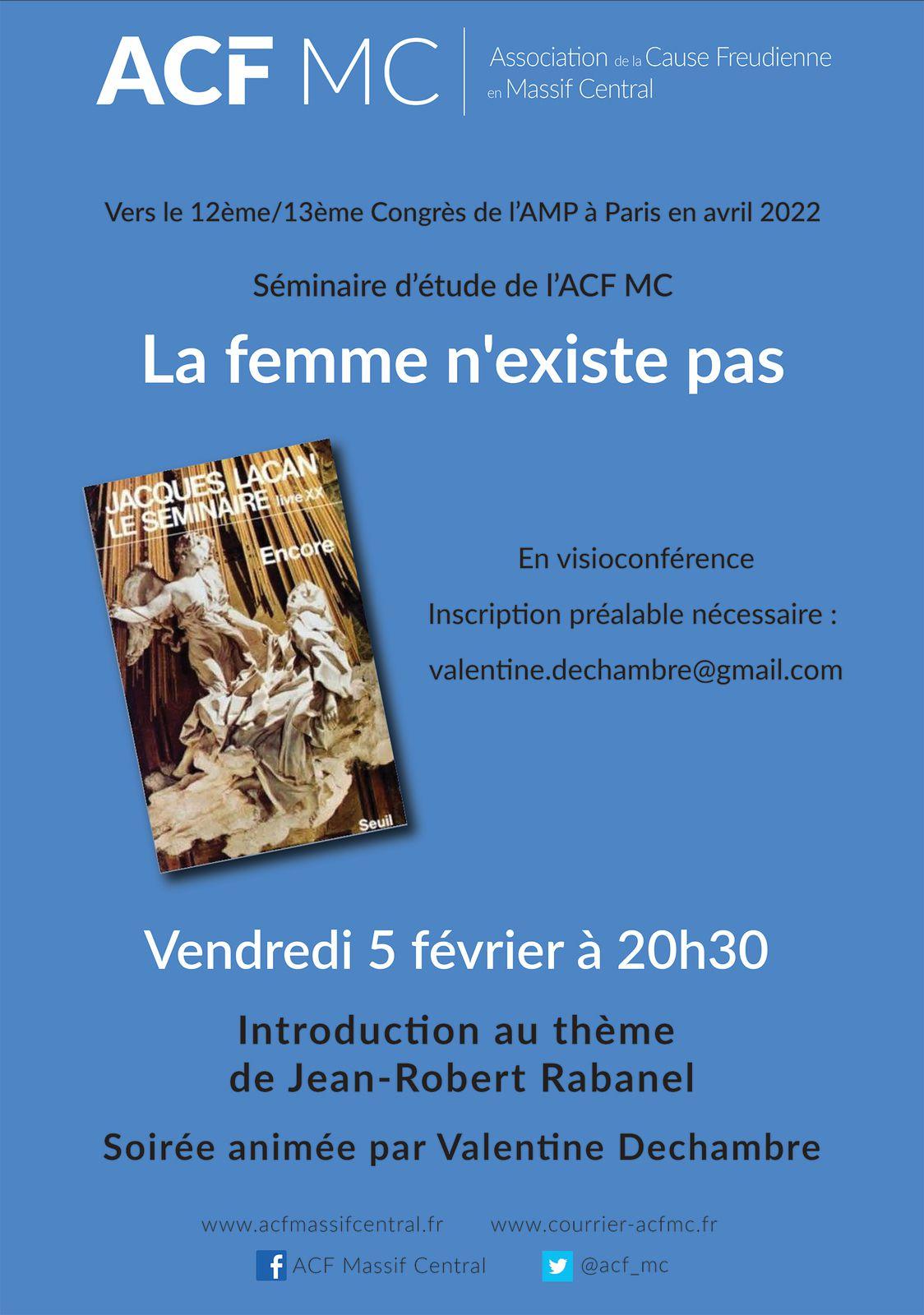 ACF MC - Le séminaire d'étude - Clermont-Ferrand