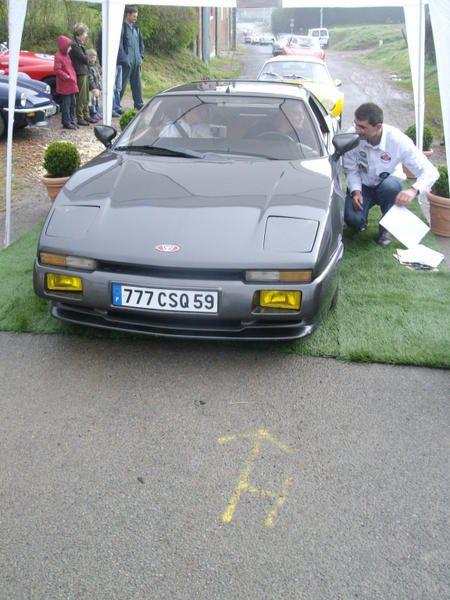 Rallye des Jonquilles 2008 Dimanche 20 avril 2008 Départ Nedonchel Villes étapes : Boubers sur canche - Equirre Arrivée : Auchel 55 voitures - 140 km