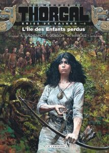 Kriss de Valmor – Tome 6 – l'île des enfants perdus de Surzhenko, Dorison et Mariolle chez Le Lombard.