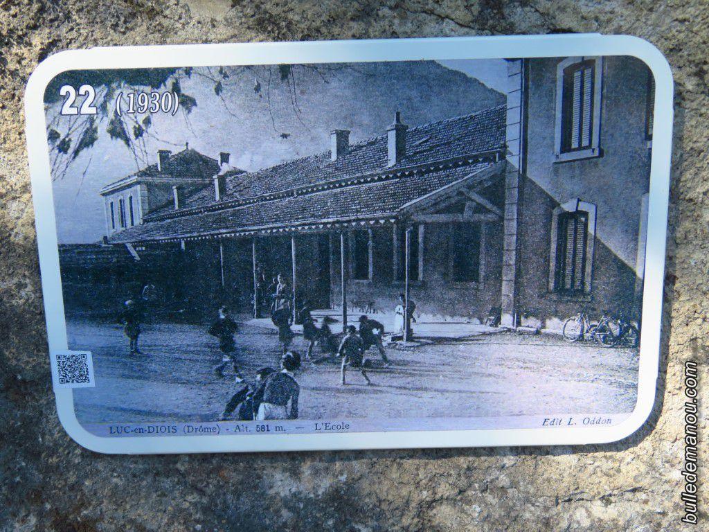 L'école en 1910 et 1930