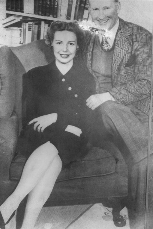Inga Arvad - Adolf Hitler - Inga Arvad with Tim McCoy in 1947, at the time of her marriage to the movie star