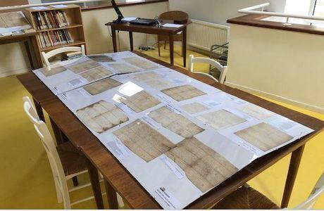 Exposition des Manuscrits Tirel