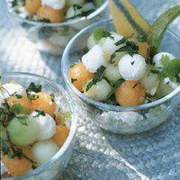 Salades de melon.....!