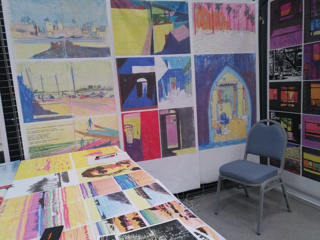 Festival de carnets de voyages à Lourmarin 2020
