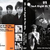 U2 -October Tour 22/11/1981 -New-York USA - The Ritz #3 - U2 BLOG