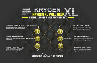Krygen XL UK Reviews 2019 [WARNING] Does it work or is it a trick?