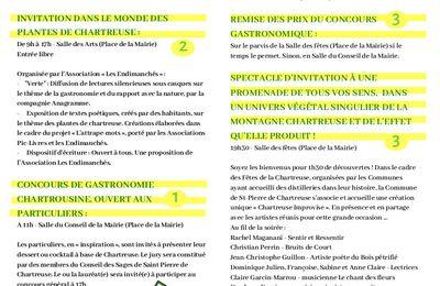 Fêtes de Chartreuse Dimanche 9 Juin 2019