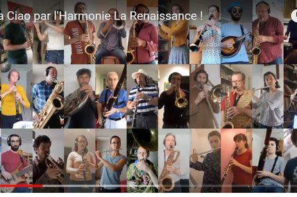 L'Harmonie La Renaissance présente Bella Ciao en soutien à la lutte contre le Covid-19