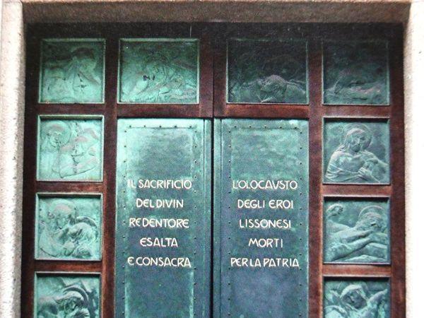 porta della chiesa dell'Oratorio maschile