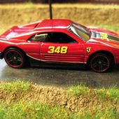 FERRARI 348 HOT WHEELS 1/64. - car-collector.net: collection voitures miniatures