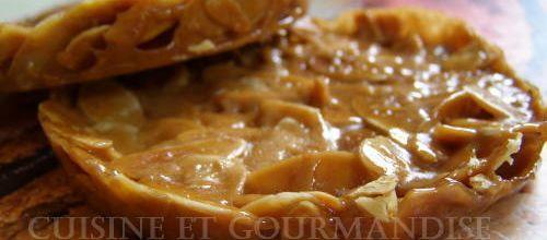 Galettes caramel doux au beurre salé & amandes grillées (excellent+++)
