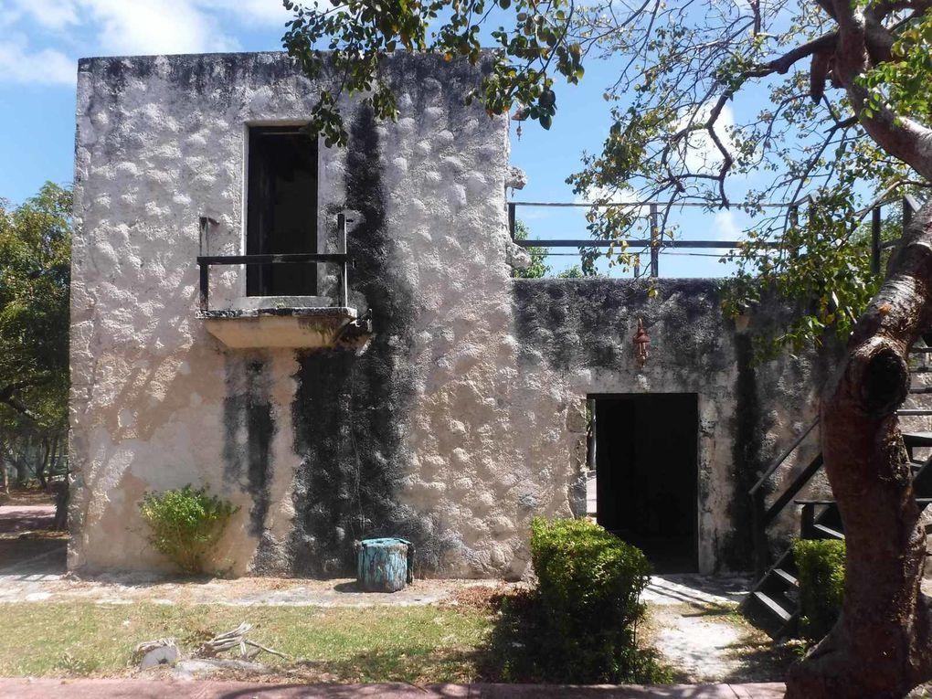 Hacienda Mundaca au centre de l'île : peu d'intérêt