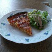 Quiche aux légumes et saumon fumé - La cuisine O-Lit