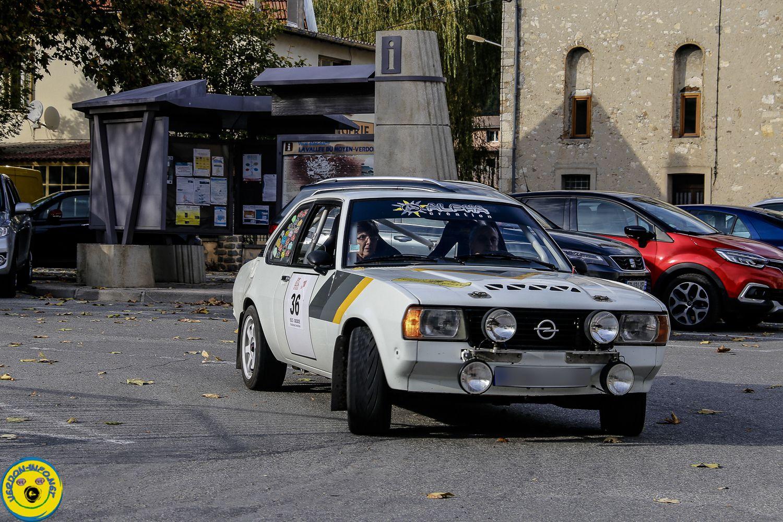 Saint André les Alpes: Arrivée sur les chapeaux de roues du rallye Jean Rolland