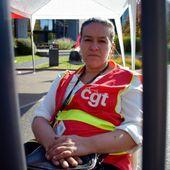 Roubaix. Grève de la faim devant Happychic : une déléguée CGT poursuit le mouvement pour l'emploi et le reclassement ! - Ça n'empêche pas Nicolas