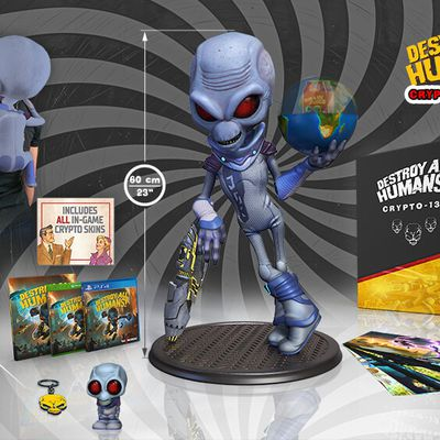 Deux collectors pour Destroy All Humans !