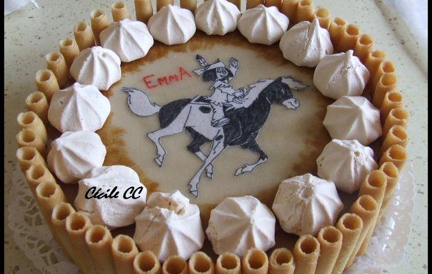 Recette de la pâte à biscuit pour le gâteau d'anniversaire d'Emma..