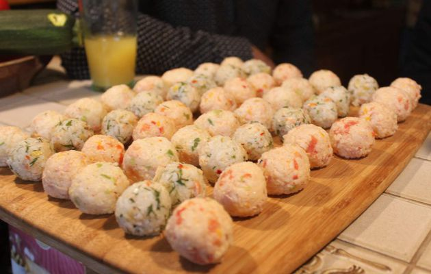 Onigiri : boulettes de riz farcies