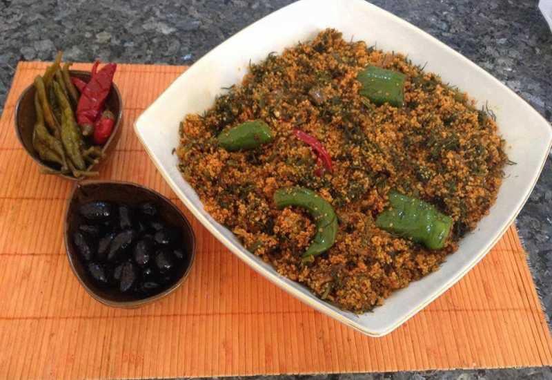 Le couscous tunisien Farfoucha, une recette signée Chef Mounir Arem  (restaurant Le Baroque à Tunis)