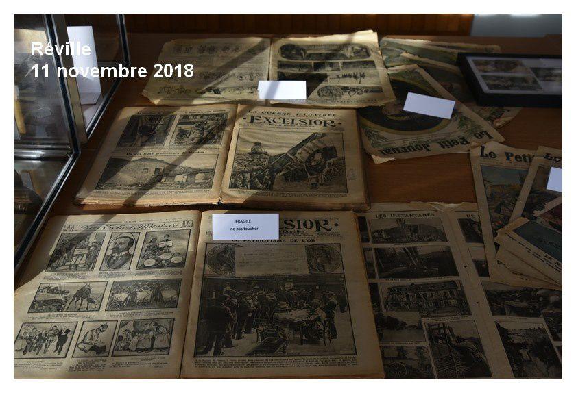 Réville 1918>2018, une exposition