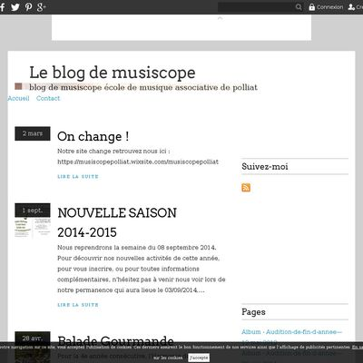 Le blog de musiscope