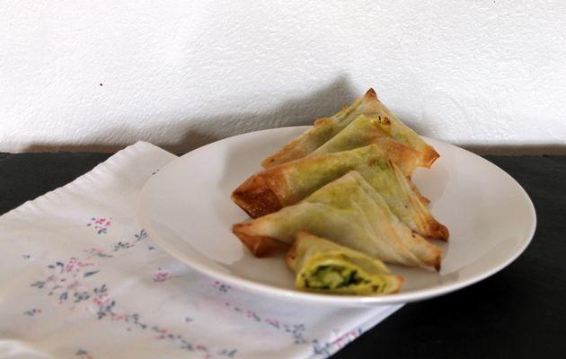 Samoussas farcis aux légumes de saison