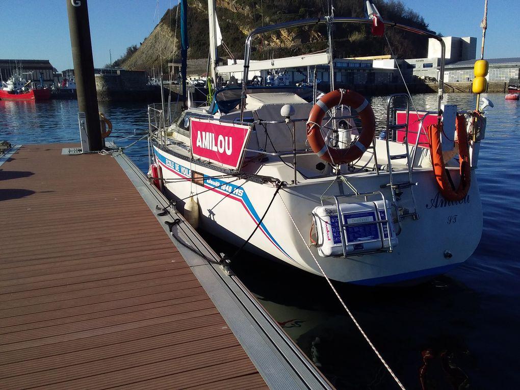 Balades en voilier Côte Basque