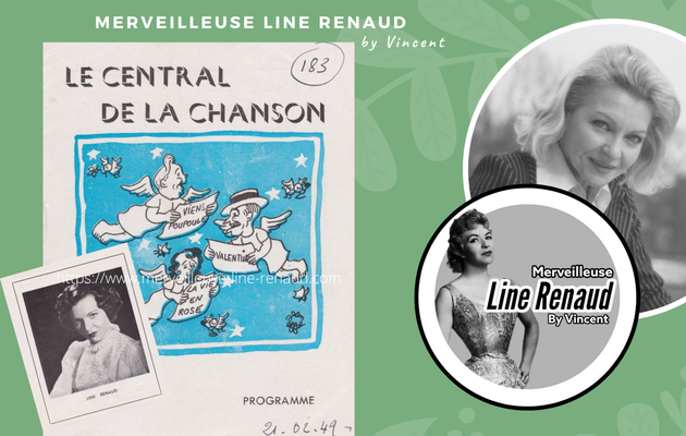 DOCUMENTS : Programme Le Central de la Chanson 18 au 24 février 1949