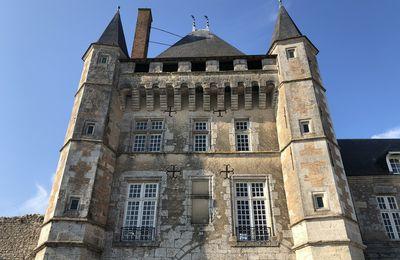 Le château de Talcy.