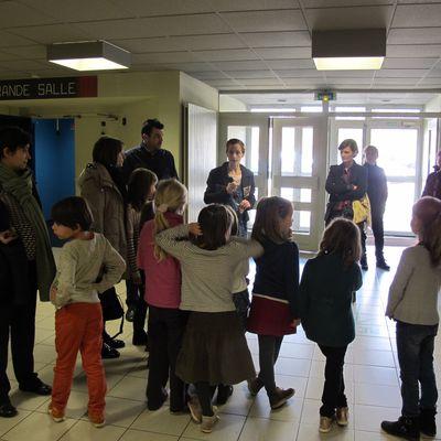 Ce début de semaine au Grand Bleu, c'était les ateliers ouverts!