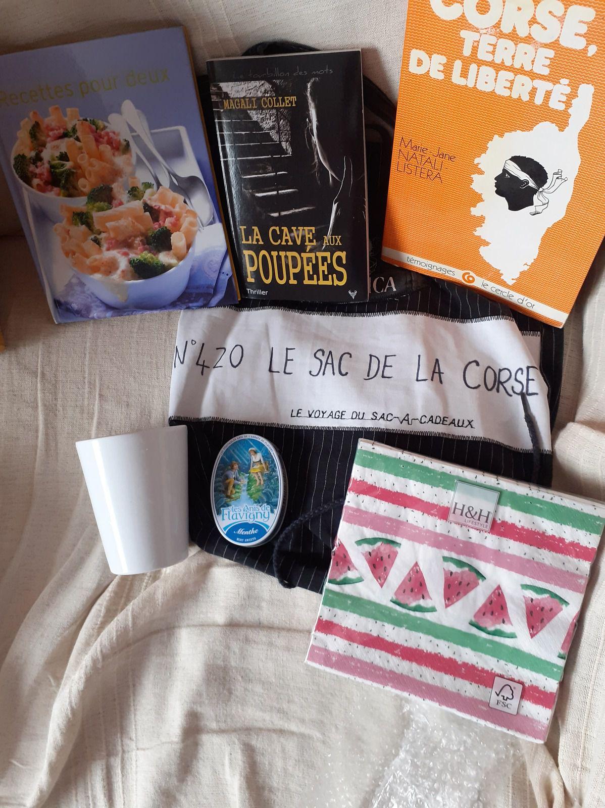 N°420 Le sac de la Corse : 6ème voyage