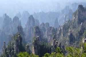 Hunan (8) ... Jour 2 au nord du Parc National de Wulingyuan