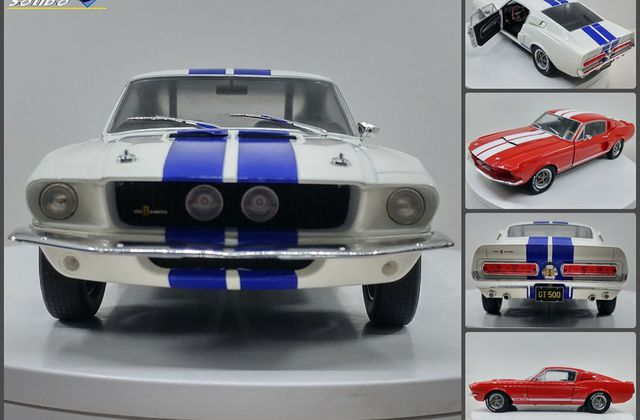 1/18 : La Shelby GT500 de 1967 programmée chez Solido