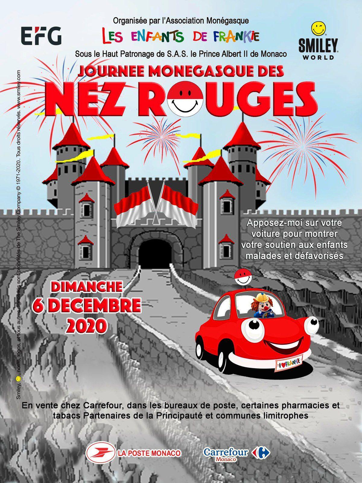 JOURNÉE MONÉGASQUE DES NEZ ROUGES 2020