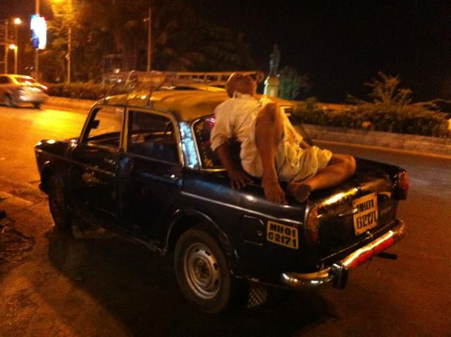Taxi driver, Bombay