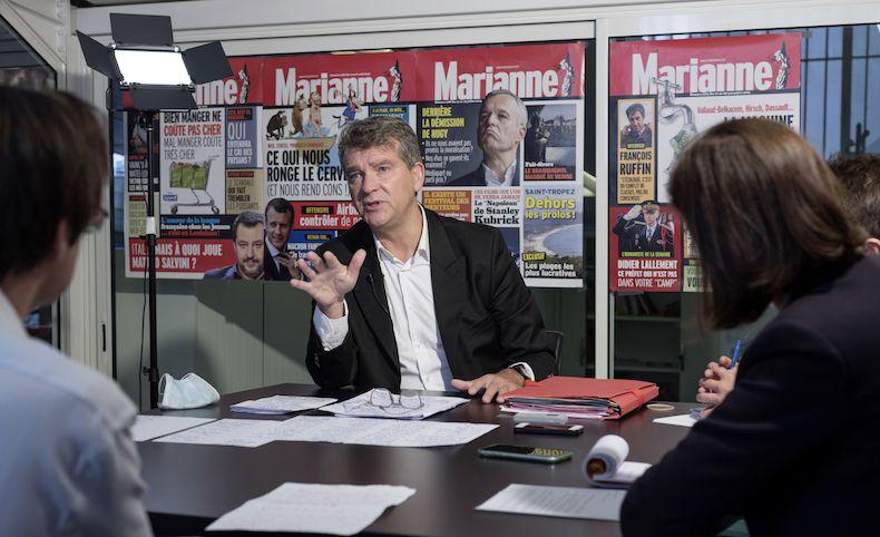 """Arnaud Montebourg : """"Avec ce plan de non-relance, il y a non-assistance à Français en danger"""" - Marianne, 9 septembre 2020"""