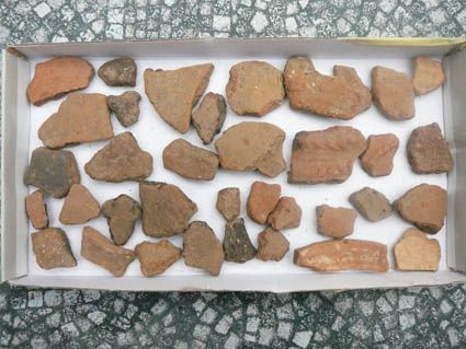 photo relatives aux fouilles du manché